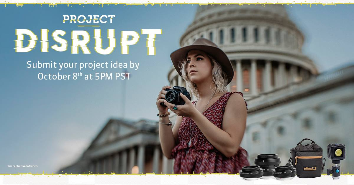 "Calling All Creatives! Lensbaby's ""Project Disrupt"" contest deadline is Oct. 8!"