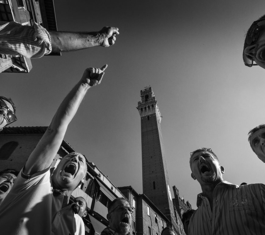 Palio! Experience Siena's Palio tradition through the lens of Luca Venturi